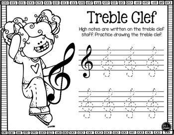 Music Notation Worksheets