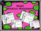 Music Notation Worksheets
