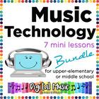 Music Technology Bundle: 7 Mini Lessons for GarageBand