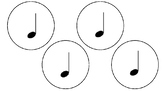 Music Note Circles