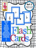 Music Note Flash Cards! (FREEBIE included in download) set 2