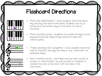 Music Note Flashcards