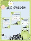 Music Note Fraction Bundle