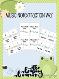 Music Note Fraction War