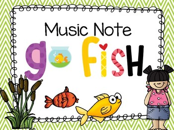 Music Note GO FISH!