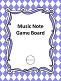 Music Note Game Boards
