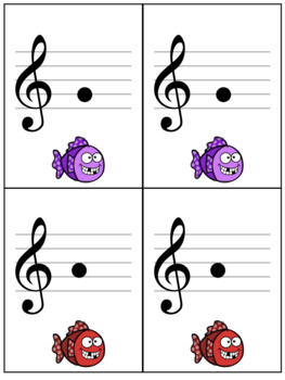 Music Note Go Fish