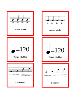 Music Note Matching Game