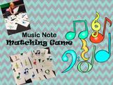 Music Note Matching Game
