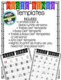Music Note Name Bingo Templates   Distance Learning