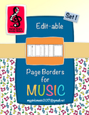 Music Borders: Notes and Symbols for ALL Music Teacher pag