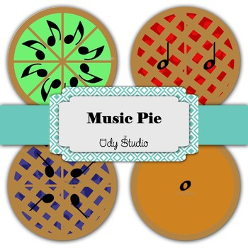 Music Note Pie-Large