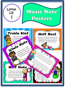Music Note Posters