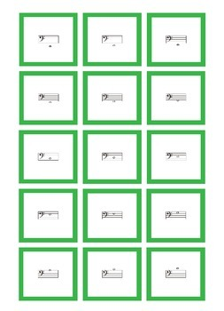 Music: Note Reading Flash Cards