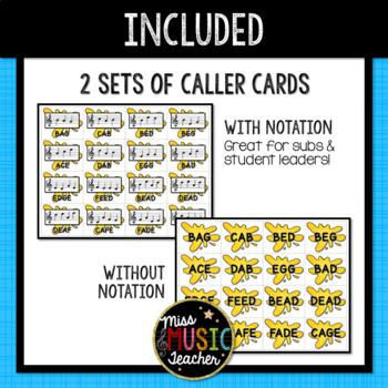 Music Note SPLAT - Treble Clef Level 2