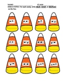 Music Note Skip, Step and Repeat Candy Corn