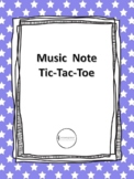 Music Note Tic-Tac-Toe