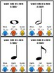 Music Note Type Poke Cards by Rhythm and Riff Music