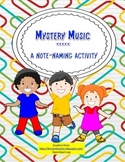 Music Note-reading Game: Mystery Music