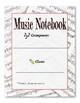Music Notebook Covers