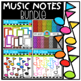Music Notes BUNDLE (P4 Clips Trioriginals)