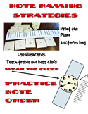 Music Notes Naming Strategies