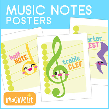 Music Notes Posters