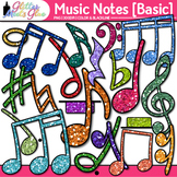 Music Notes Clip Art BASIC PACK | Rhythm, Notation, and Symbol Graphics