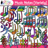 Music Notes Clip Art: Rhythm, Notation, & Symbol Graphics 2 {Glitter Meets Glue}