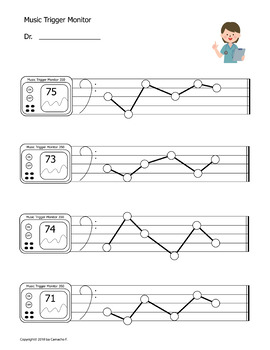 Music Notes Worksheet - Bass and Treble **Back to School**