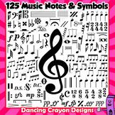 Clip Art Music Notes and Symbols   Clip Art Bundle