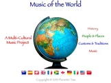 Music Of The World: Multicultural Music (History, Geography, Social Studies)
