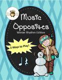 Music Symbols: Music Opposites