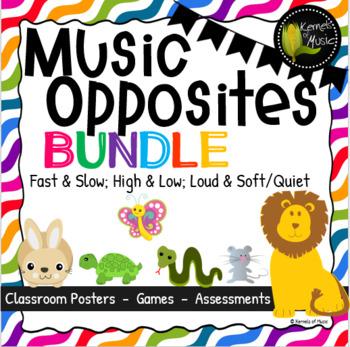Music Opposites Bundled Set-Bright