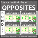 St. Patrick's Day Music Opposites Interactive Music Games {Dancing Leprechaun}