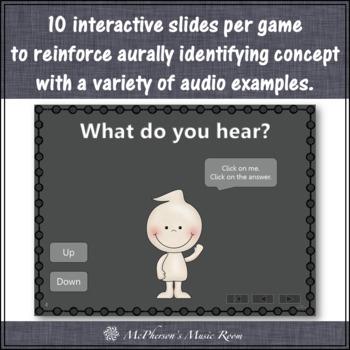 Music Opposites Ghostie Dance (Bundle) Interactive Music Games