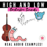 Music Opposites Digital Game | High and Low Sounds of the