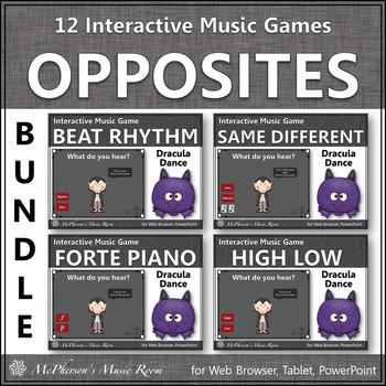 Music Opposites Interactive Music Bundle (dracula)