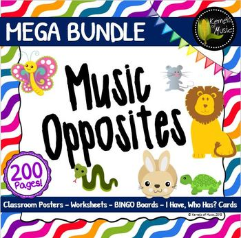 Music Opposites MEGA Bundle-Bright