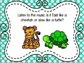 Music Opposites Slides and Worksheets