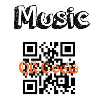 Music QR Code - 1:1 iPads - Student Choice & Voice