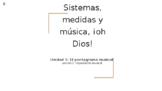 Music Organization PowerPoint Presentation (Spanish Version)