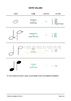 Music Pack for Young Beginners