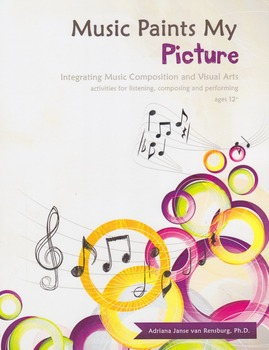 Music Paints My Picture - integrating music composition and visual art