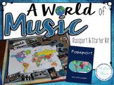 A World of Music, Passport & Starter Kit