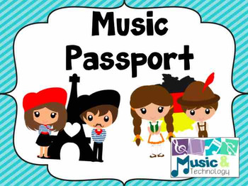 Music Passport Printable