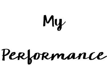 Music Performance Bulletin Board {Freebie}