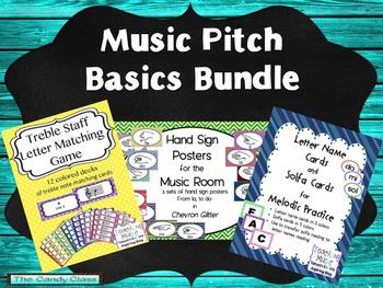 Music Pitch Basics Bundle