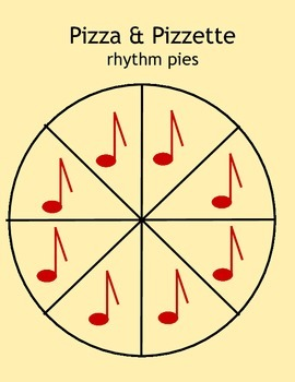 Music: Pizza & Pizzette - teaching note values