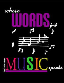 Music Poster for Classroom